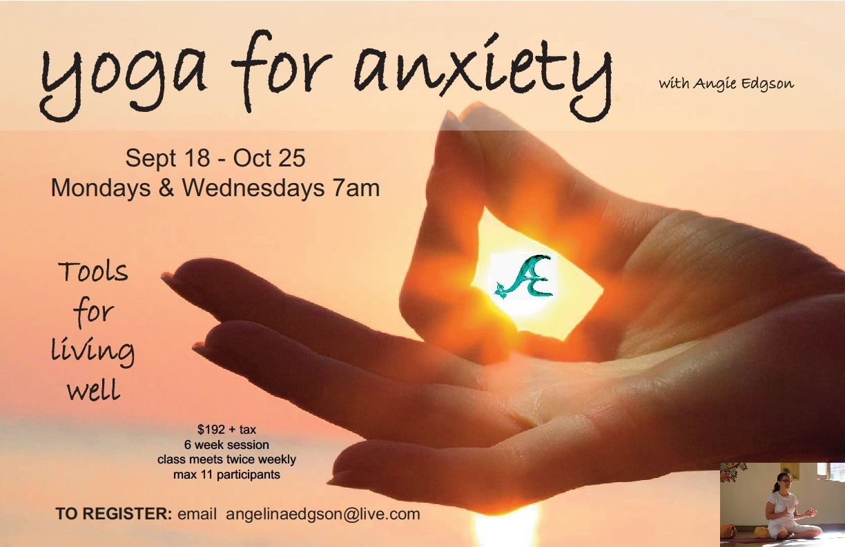 anxiety stress relief yoga therapy