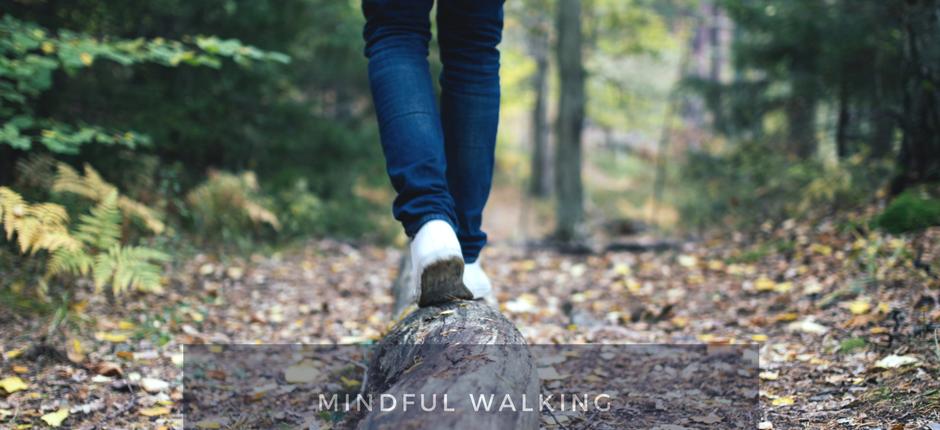 being mindful walking meditation